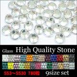 High qualityガラス製ストーン SS3〜SS30 9サイズセット