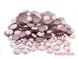 韓国製アルミスタッズ ダイヤカット型 ピンク