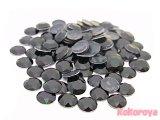 韓国製アルミスタッズ ダイヤカット型 ブラック