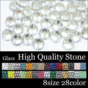 画像1: High qualityガラス製ストーン