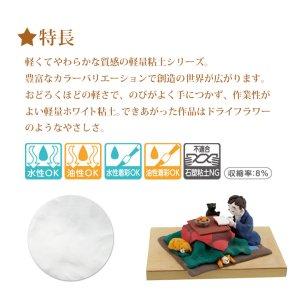 画像2: 【25%オフ!】パジコ 軽量樹脂粘土 ハーティクレイホワイト 200g 32134