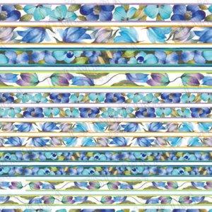 画像2: 【ツメキラ25%OFF】T41 向井マキ プロデュース1 Lady Decor blue ネイルシール NK-MKI-102 32542