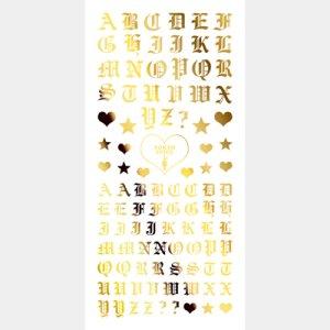 画像2: 【ツメキラ25%OFF】T38 BritneyTOKYO プロデュース2 Chola Glamour 2 ゴールド(ジェル専用) ネイルシール SG-BTK-110 34218