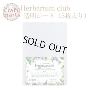 画像1: 【ハーバリウムクラブ】h1 透明シート(5枚入り)A5サイズ HR-CLR-101 80332
