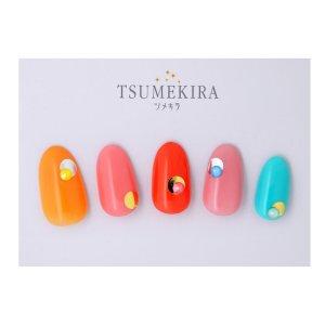 画像3: 【ツメキラ25%OFF】T53 rrieenee×junjun nail プロデュース1 Mulch Mode Plate silver(ジェル専用) ネイルシール SG-JUN-103 80363