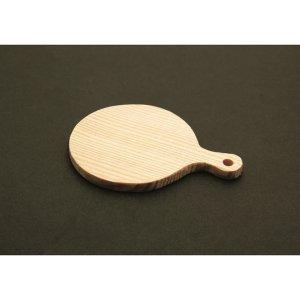 画像2: 【5%OFF クレイジュエリーライン】N006 Tableware Collection用 木製カッティングボード(丸) 996