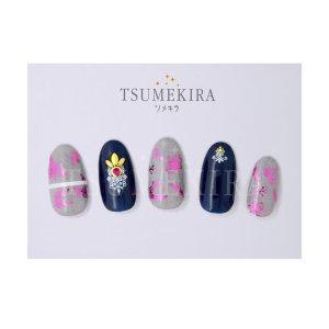 画像2: 【ツメキラ25%OFF】T92 Vicky Wu プロデュース4 Spring flower paradise2 ピンク (ジェル専用) ネイルシール SG-VIW-106 81261