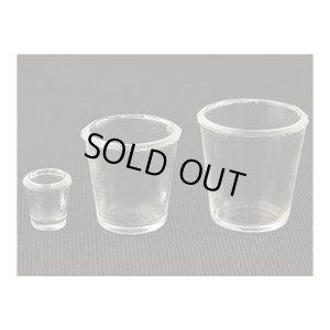 画像2: クレイジュエリー型抜き N048 Tableware Collection カフェグラス 広口 立体型 978