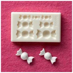 画像2: A140 アートギャラリーフローレ 粘土専用型 ミニ型抜き G-028 ぷっくりキャンディー