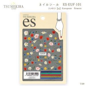 画像1: ツメキラ【es】 T109 European flowers ES-EUF-101 81490