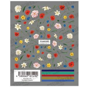 画像2: ツメキラ【es】 T109 European flowers ES-EUF-101 81490