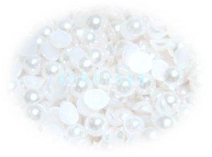 画像1: パール ホワイト 4mm 1000粒